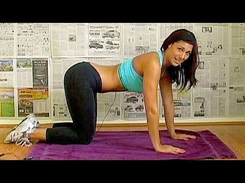 5 Min Super Abs Workout Part 2, Fitness Training, Exercise w/ Emmy