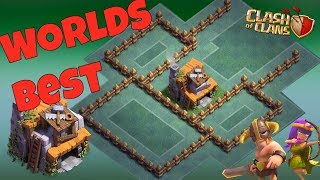 Worlds Best BH4 Base Layout + REPLAYS Anti 1 Star Anti Dragon Anti Giant Anti Archer