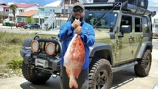 Overland Life - Monster Red Snapper from a Kayak