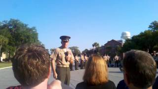 Marine Corps Graduation at Parris Island with the Marine Corps Band 5-11-2012