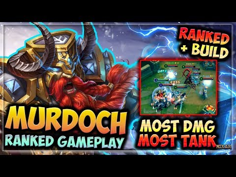 HIGHEST DAMAGE & TANK!! | HEROES EVOLVED - MURDOCH BUILD | RANKED GAMEPLAY