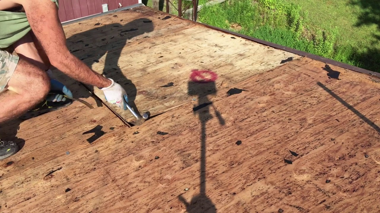 Plywood Roof Sheathing Installation Repair Fast And Easy