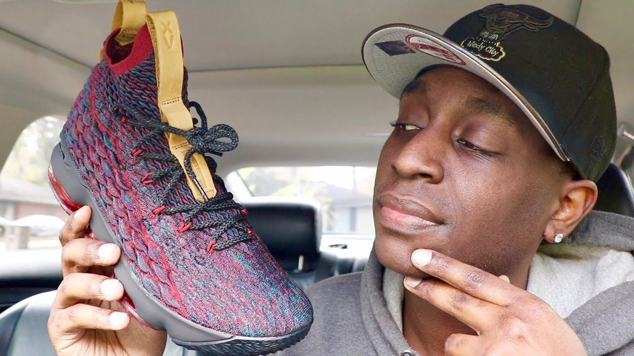3540a2b31c1d Retail Release LeBron 15 New Heights On Feet Review - YouTube