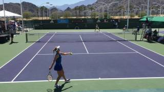 Girls ITF Easter Bowl final 2017