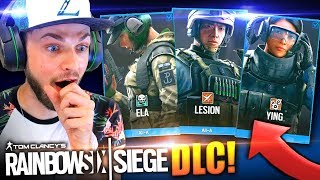 EARLY BLOOD ORCHID GAMEPLAY (3 NEW OPERATORS)! - (Rainbow Six Siege DLC)