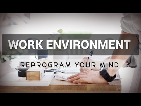 Work Environment affirmations mp3 music audio - Law of attraction - Hypnosis - Subliminal