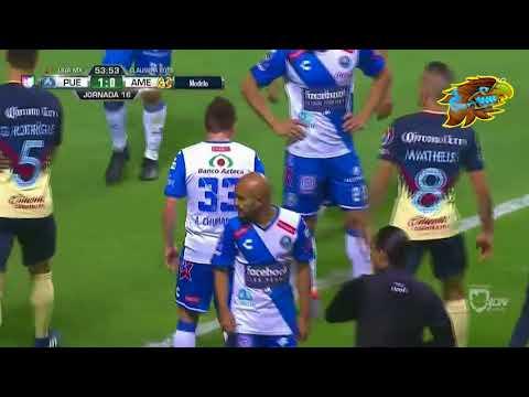 Actuación de Diego Lainez en Puebla 3-1 América del Clausura 2018