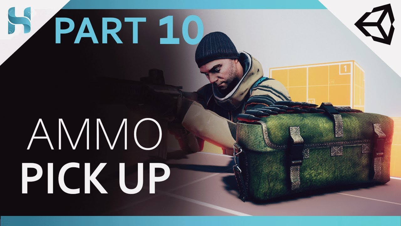 Ammo Pick up System_Making Survival-Shooter Game in Unity_Part_10