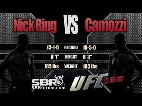 Nick Ring vs Chris Camozzi | UFC 158 Preview and Free Picks