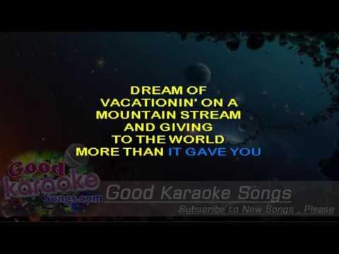 Jackie Brown  - John Mellencamp (Lyrics Karaoke) [ goodkaraokesongs.com ]