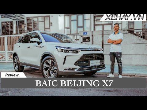 Baic Beijing X7 giá chỉ hơn 600 triệu - Công nghệ nhiều nhất Việt Nam |XEHAY.VN|
