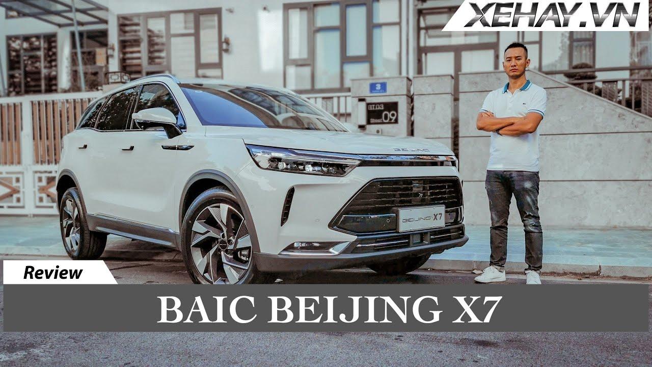 Baic Beijing X7 với Công nghệ nhiều nhất Việt Nam