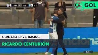 Ricardo Centurión (0-1) Gimnasia LP vs Racing | Fecha 12 - Superliga Argentina 2018/2019