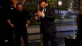 """Jimmy Fallon does a brief impromptu rendition of Neil Young singing """"Pants on the Ground"""""""