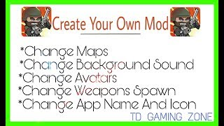 How to Make Your Own Mod Of Mini Militia (Change Maps,Avatars,Sound Etc.) || TD GAMING ZONE