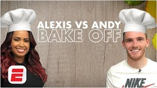 Liverpool's Andrew Robertson takes on ESPN's bake off challenge with Alexis Nunes | Premier League