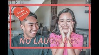 NO LAUGHING CHALLENGE??! Super laughtrip!!   VALENTINE'S SERIES DAY 2