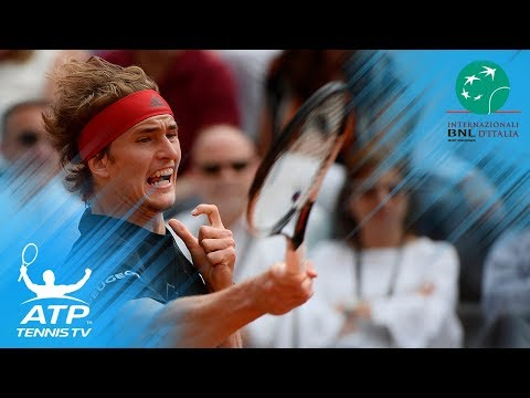 Nadal defeats Djokovic, will face Zverev in final | Rome 2018 Semi-Final Highlights