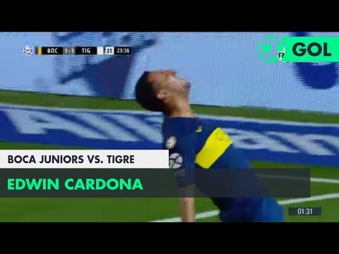 Edwin Cardona (2-1) Boca Juniors vs Tigre | Fecha 11 - Superliga Argentina 2018/2019