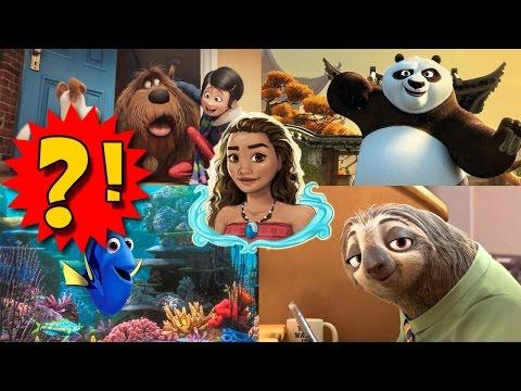 Лучший мультфильм 2016 смотреть