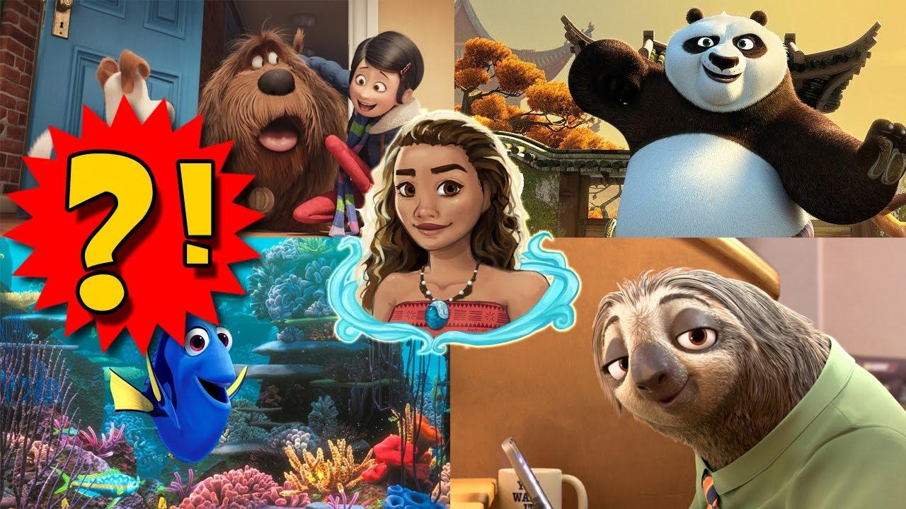 Лучшие мультфильмы 2016 года
