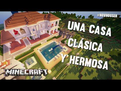 Minecraft casa peque a sencilla y moderna a la vez for Casa rodante clasica