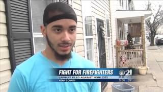 Firefighter's union sues City of York