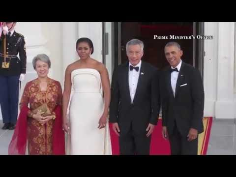Official Visit to Washington DC: Arrival Ceremony & State Dinner