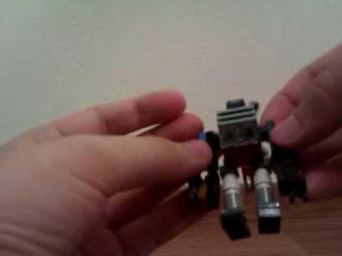 Как сделать из ненужного лего робота