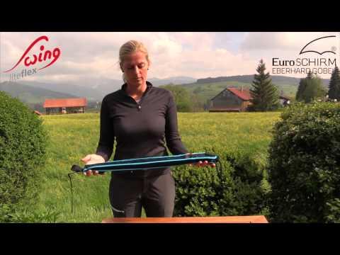 Euroschirm Swing liteflex Regenschirm