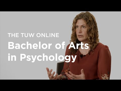 The TUW Bachelor of Arts in Psychology  Degree