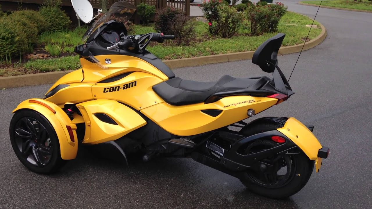 2013 can am spyder sts sm5