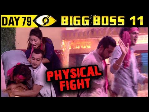 Hina Khan And Vikas Gupta PHYSICAL FIGHT | Bigg Boss 11 Day 79 | 19th December 2017 Episode Update