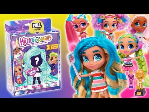 MEET HAIRDORABLES! | A Toy Insider Play by Play