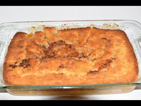 Super Easy Peach Cobbler Recipe - Homemade Peach Cobbler