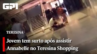 بسبب فيلم رعب.. إصابة فتاة بالشلل فى مول شهير.. فيديو