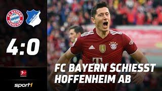 Bayern – Hoffenheim 4:0 | Highlights Bundesliga 9. Spieltag | SPORT1
