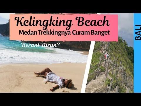Trekking Down Kelingking Beach Nusa Penida