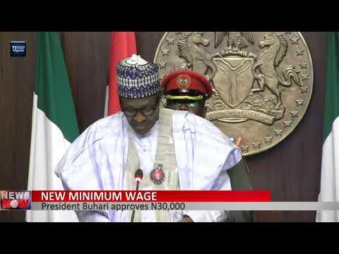 President Buhari approves N30,000 as new minimum wage
