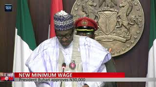 President Buhari approves N30,000 as new minimum wage