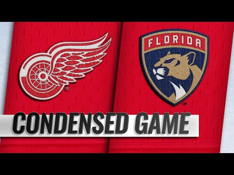 10/20/18 Condensed Game: Red Wings @ Panthers