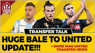 Gareth BALE's Agent Gives Manchester United Transfer Update!