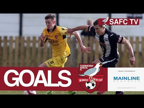 Goals: Atherton Collieries v Scarborough Athletic - 24/03/2018
