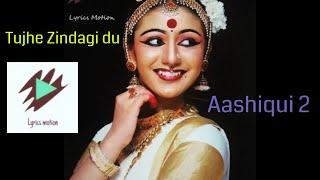 Tujhe zindagi Du | Aashiqui 2 (2013 ) | Famous romantic  Dialogue | Whatsapp Status | Lyrics Motion