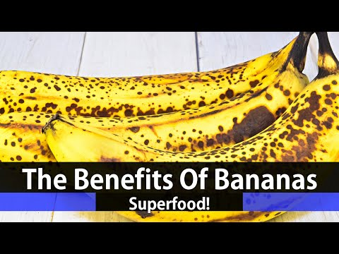 Banana Nutrition Facts and Health Benefits (Class 1 Superfood/Superfruit)