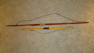 Longbow Shortbow Comparison