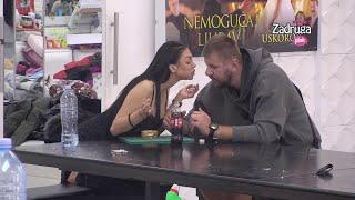 Zadruga 4 - Janjuš spremio Maji doručak, a onda odbio da je poljubi - 20.04.2021.