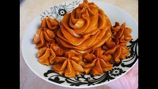 Рецепт масляного крема со сгущенкой Очень ВКУСНЫЙ крем для промазывания коржей
