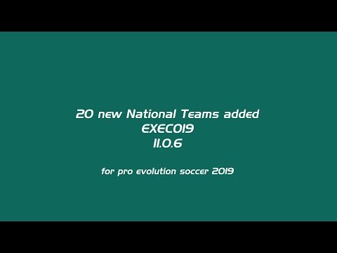PES 2019 EXECO19 Patch 11.0.6 by smoke patch