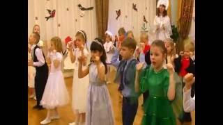 """Новогодний парный танец """"Новый год"""" (старшая группа) детский сад 15 """"Светлячок"""" Коломна"""